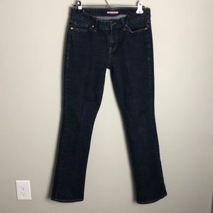 Tommy Hilfiger Dark Blue Boot Cut Jeans Size 4